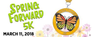 Spring Forward 5K  registration logo