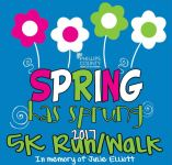 Spring Has Sprung Run/Walk registration logo