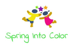 Spring Into Color registration logo
