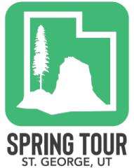 SPRING TOUR OF ST. GEORGE registration logo