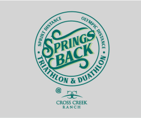 Springs Back Triathlon - POSTPONED registration logo
