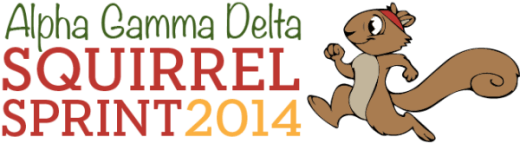 Squirrel Sprint registration logo