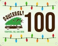 Squirrel  Virtual 5k 10k Run registration logo