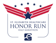 St. Elizabeth Healthcare Honor Run Half Marathon registration logo