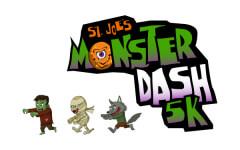 St. Joe's Monster Dash 5K registration logo