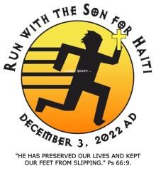 St. Kateri's Run/Walk with the Son for Haiti 5K registration logo