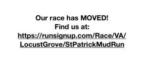 St. Patrick School 5k Mud Run registration logo