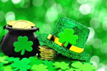 St. Patrick's Day 5K Run registration logo