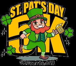 St. Pat's Day 5K & Paddy's 0.08ish K - Racine, WI registration logo