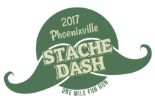 Stache Dash 1 Mile Fun Run & Walk registration logo