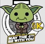 Star Wars Day 5k registration logo