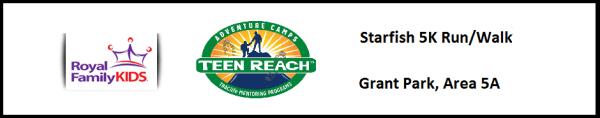 Starfish 5K Run/Walk and Silent Auction registration logo