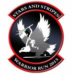 Stars and Stripes Warrior Run registration logo