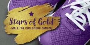 Stars of Gold Walk registration logo