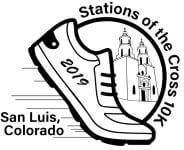 Stations of the Cross 10K Run registration logo