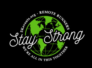 Stay Strong REMOTE RUNNERS 5K registration logo