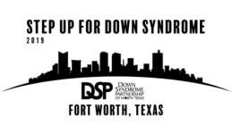 Step Up for Down Syndrome 5K registration logo