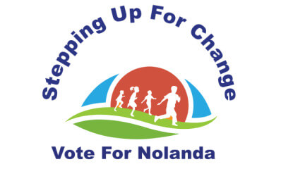 Stepping Up For Change registration logo