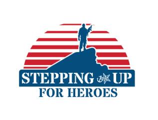 Stepping Up For Heroes registration logo