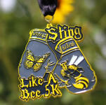 Sting Like A Bee 5K registration logo