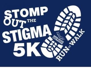 STOMP OUT THE STIGMA registration logo