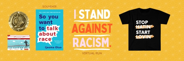Stop Racism Virtual Race registration logo