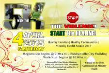 Stop the Violence, Start the Healing registration logo