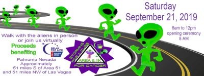 storming for a cure for Cancer AREA 5.1K registration logo