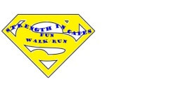 Strength in Capes 2 mile/5K Fun Walk/Run registration logo
