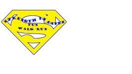 Strength in Capes 2 mile/5K Fun Walk/Run registration logo