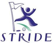 STRIDE Charity Golf Tournament registration logo