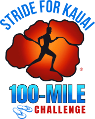 Stride for Kauai 100-Mile Challenge registration logo