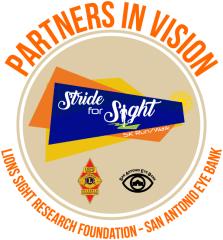 Stride for Sight 5K registration logo
