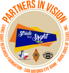 Stride for Sight 5K registration logo