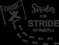 Virtual Strides for STRIDE 5K Walk/Run registration logo