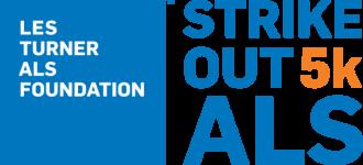Strike Out ALS 5k and 1 Mile Run, Walk & Roll registration logo