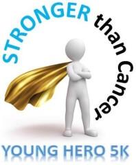 STRONGER Than Cancer 5k & Celebration of Life registration logo
