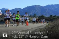Students Run LA 18-Mile Race registration logo