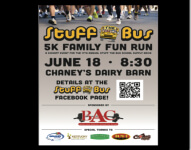 Stuff the Bus Family Fun Run registration logo