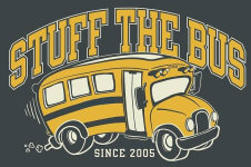 Stuff the Bus Fun Run registration logo