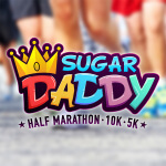 Sugar Daddy Half Marathon registration logo