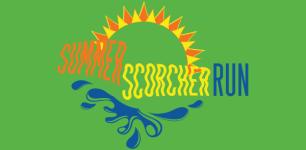 Summer Scorcher 5K and Kids Run registration logo