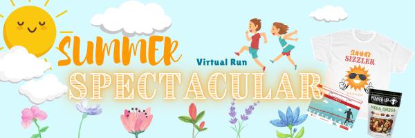 Summer Spectacular Virtual Run registration logo