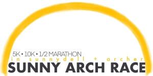 Sunny Arch Race registration logo