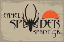 Sunrise Camel Spider 5K registration logo