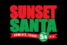 Sunset Santa 5K registration logo