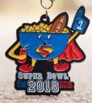 Super Bowl 5K & 10K-Clearance from 2018 registration logo