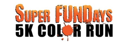 Super FunDays Color Run registration logo