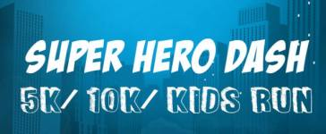 Super Hero Dash - 5K/10K/Kids Run registration logo