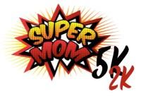 Super Mom 5k and 2k registration logo
